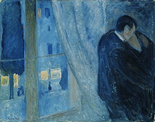 512px-Edvard_Munch_-_Kiss_by_the_window_(1892)