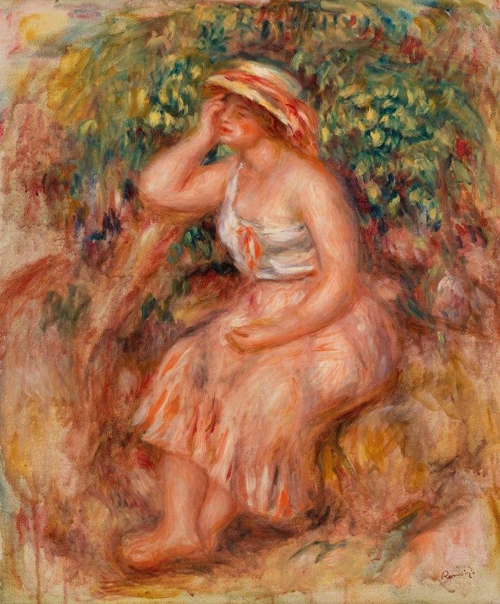 Pierre-Auguste_Renoir_-_Woman_Daydreaming_(Rêveuse)_-_BF139_-_Barnes_Foundation