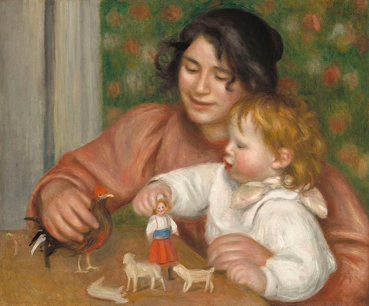Child_with_Toys_-_Gabrielle_and_the_Artist's_Son,_Jean_A34140