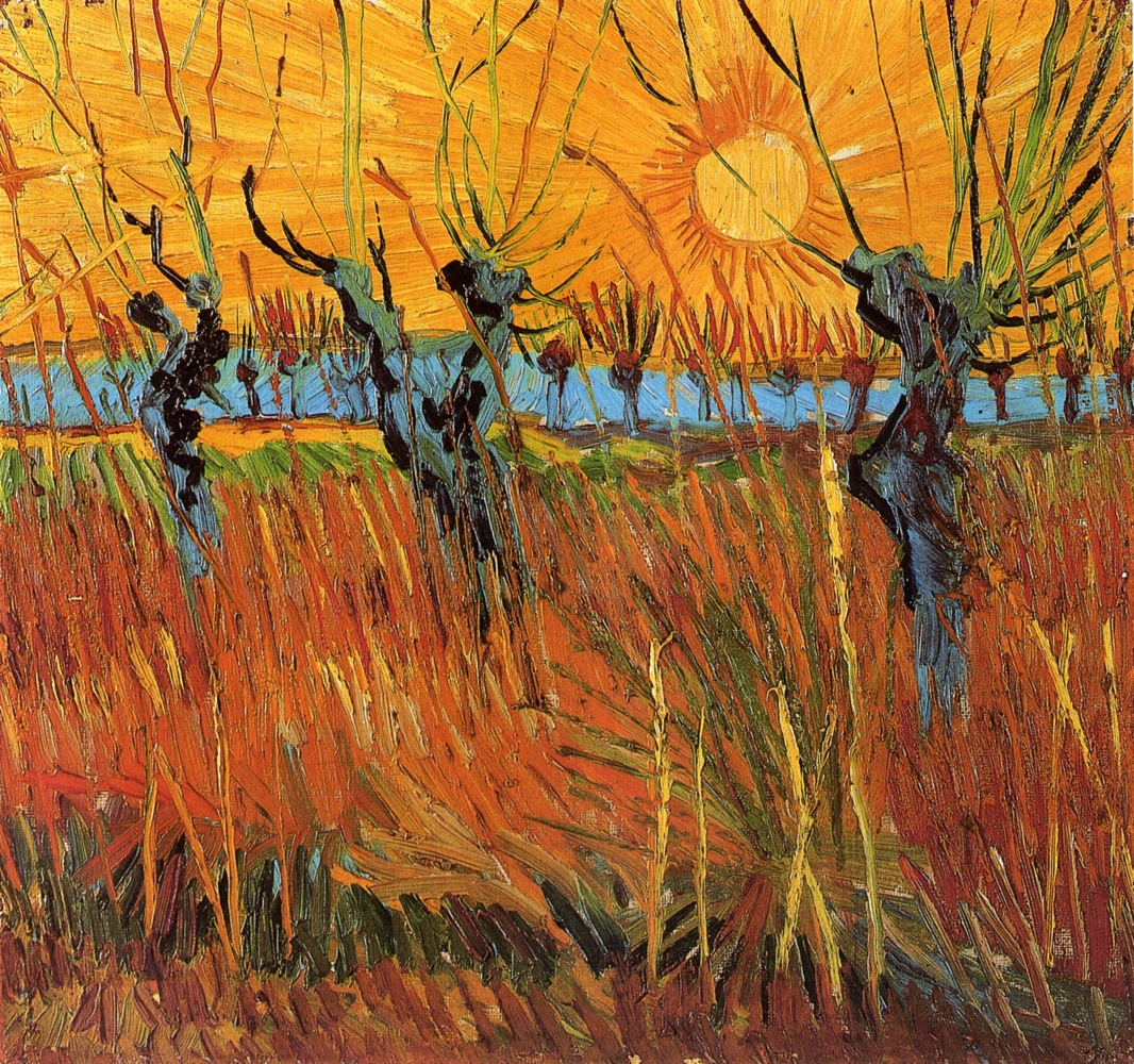 Willows_at_Sunset_1888_Vincent_van_Gogh