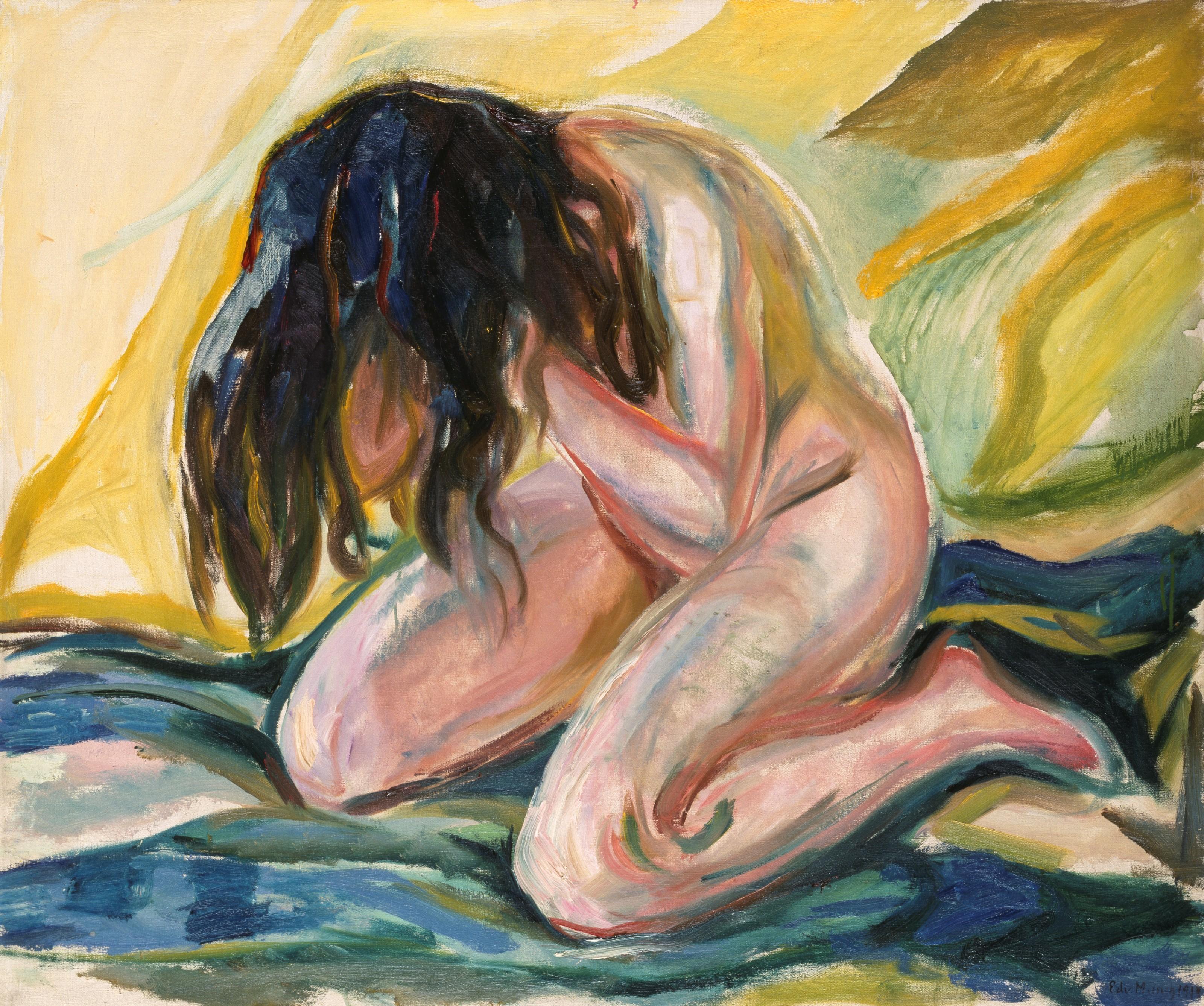 Edvard_Munch_-_Kneeling_Female_Nude_-_BF.1969.1_-_Museum_of_Fine_Arts,_Houston