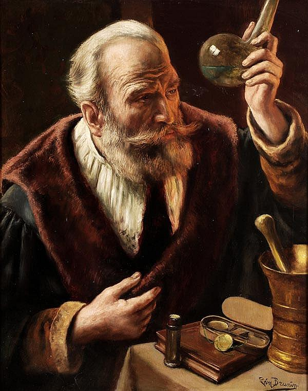 Léon_Brunin_-_The_Alchemist