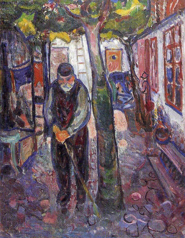 Munch.old-man-in-warnemunde-1907