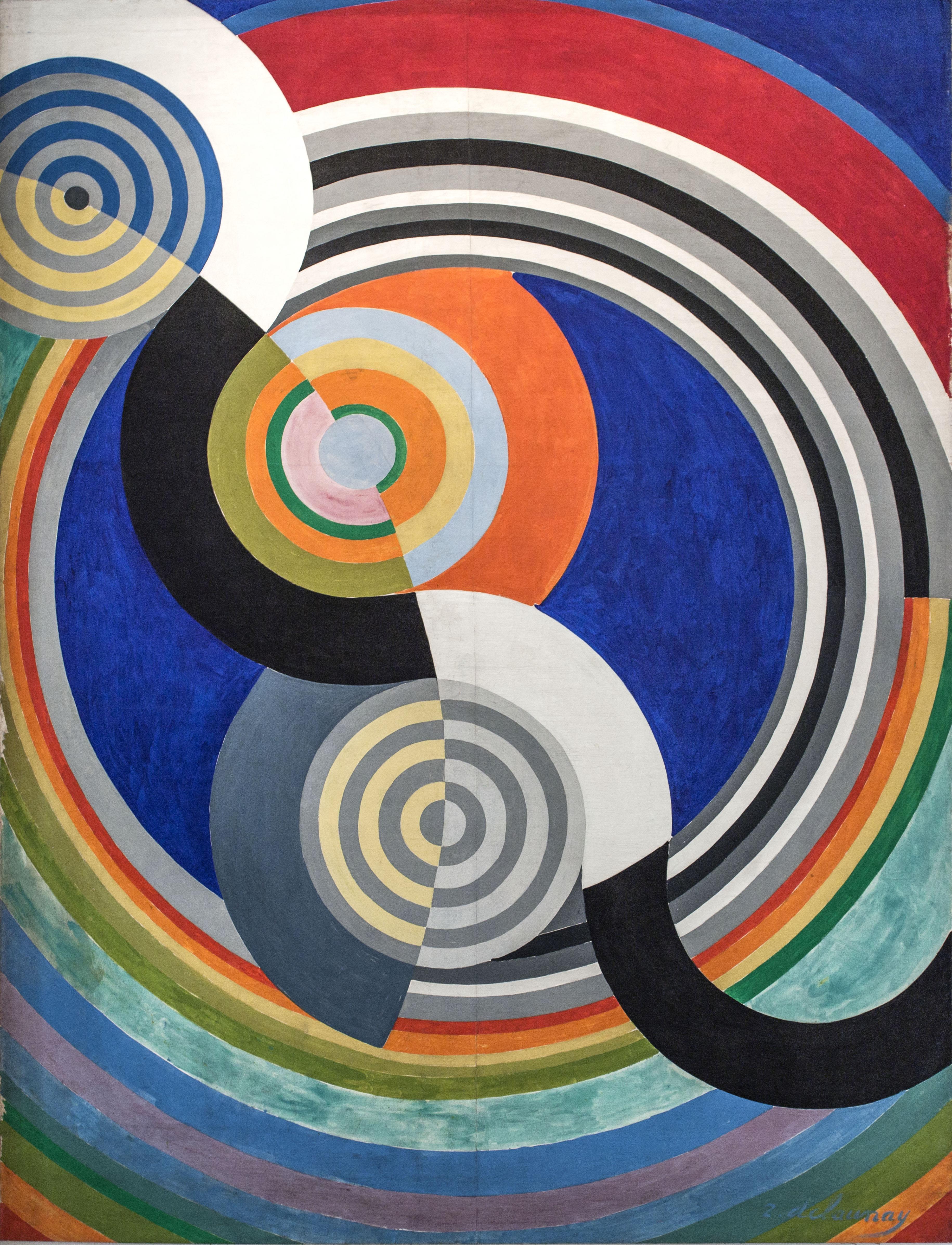 Rythme n°2, décoration pour le Salon des Tuileries
