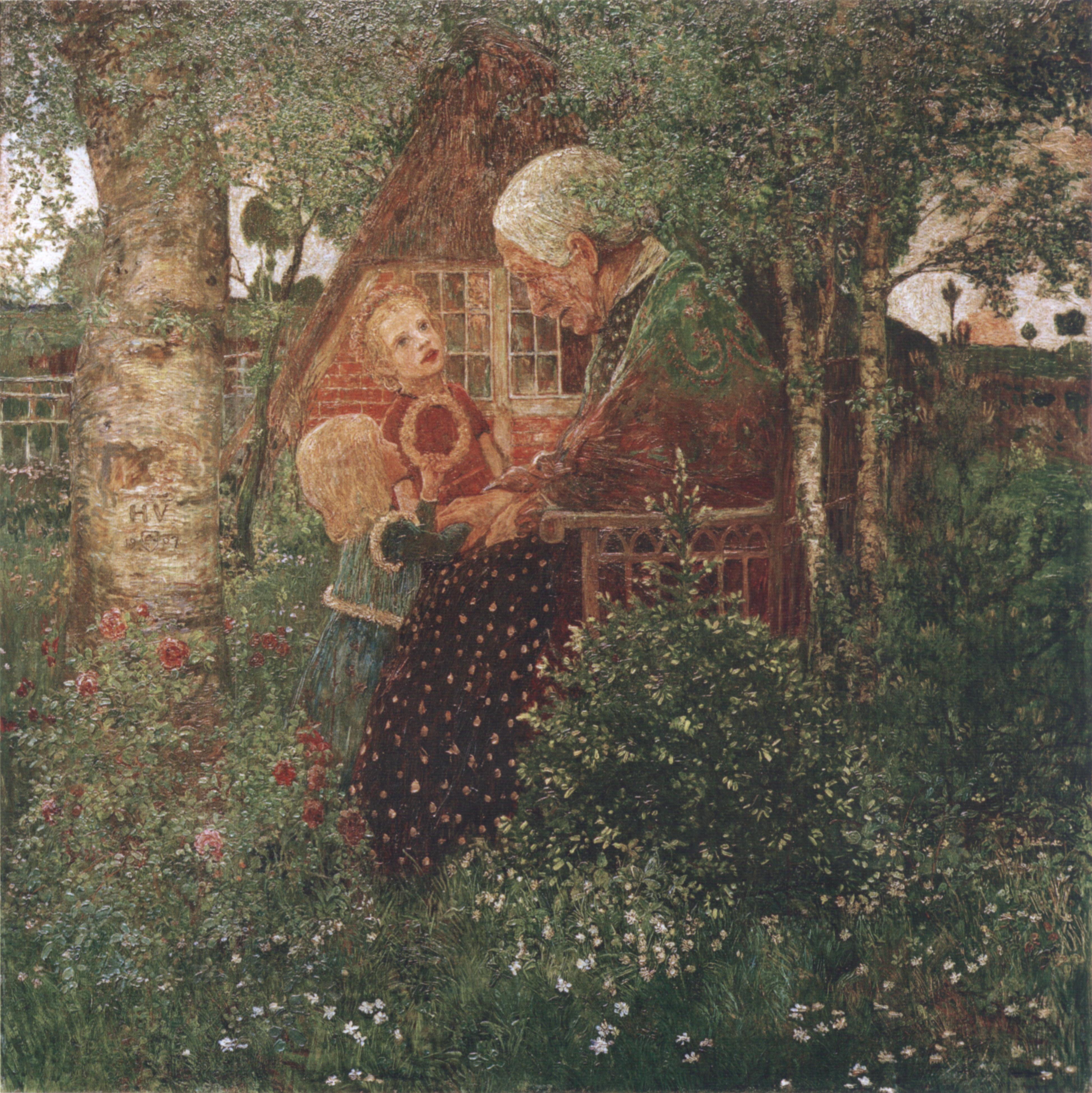 Heinrich_Vogeler_Die_Märchenerzählerin_1907
